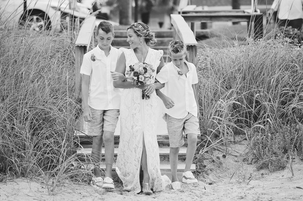Florida beach destination wedding