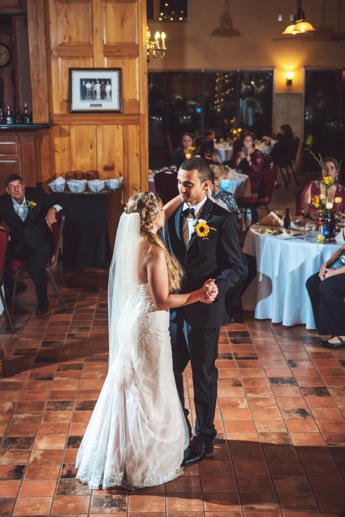 rustic oak tree wedding